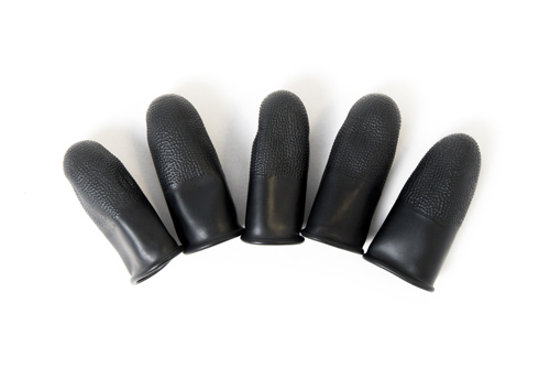 heavy duty static dissipative finger cots