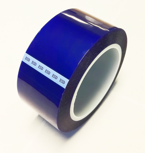anti static blue polyester tape