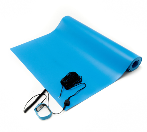 blue anti static general purpose mat kit
