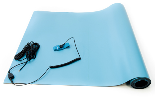 anti static high temperature mat blue