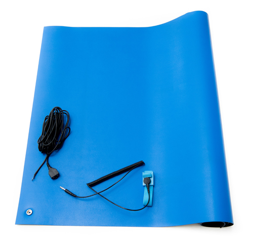 blue anti static high temperature mat kit